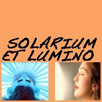 SOLARIUM ET LUMINOTHERAPIE